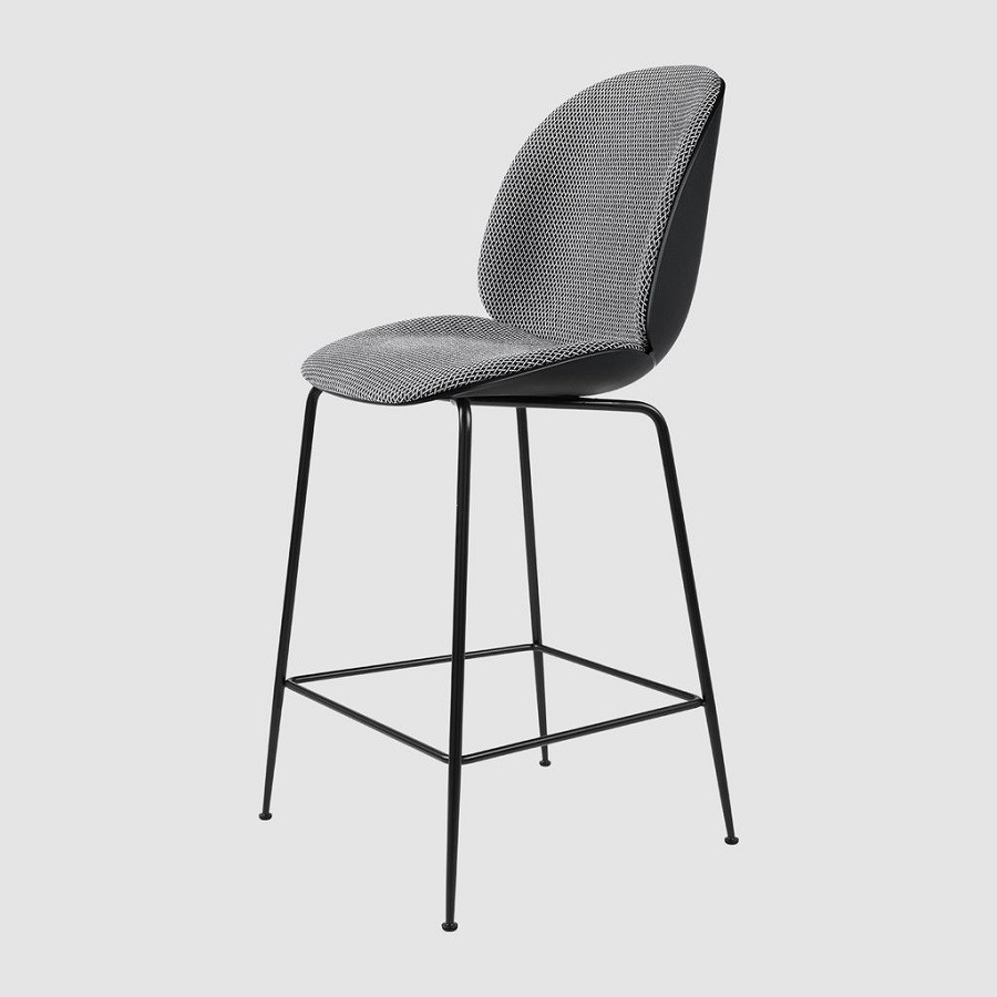 Gubi Sessel Beetle Gubi Beetle Counter Chair Front Upholstered 65 Cm