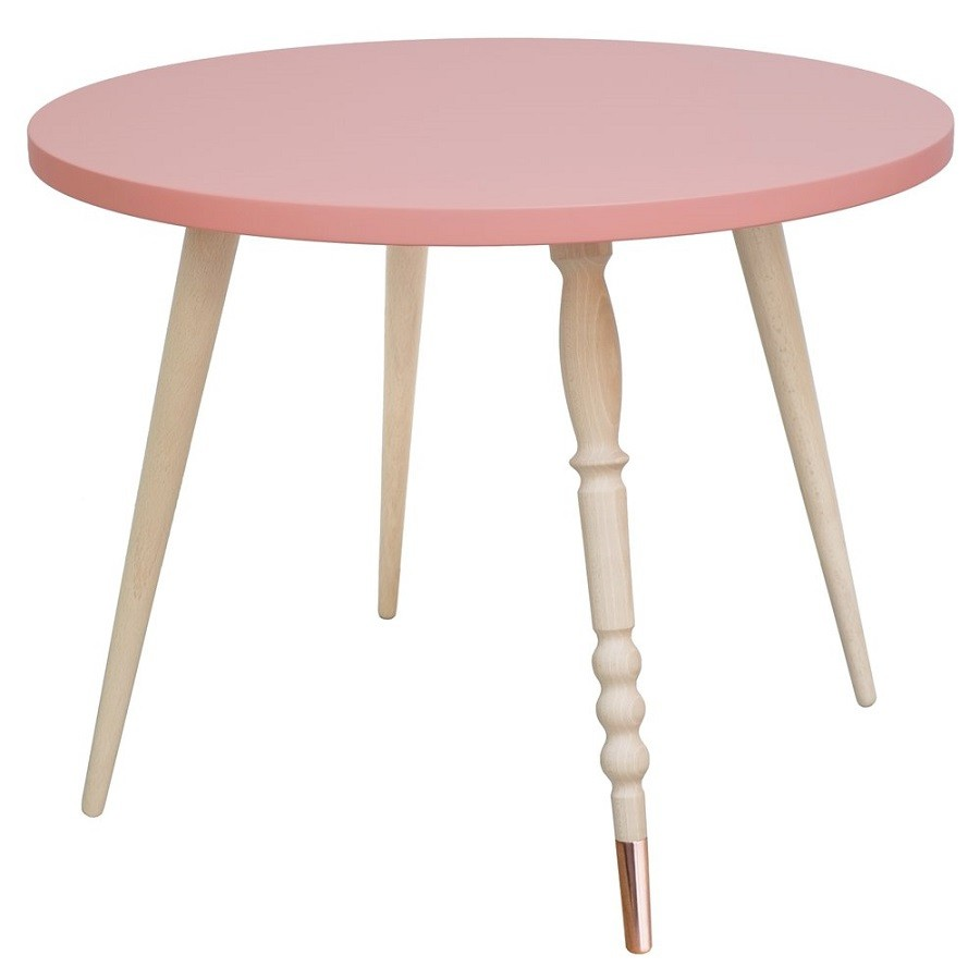 Table Basse Tres Basse Jungle By Jungle Table Basse Enfant Ronde My Lovely Ballerine Ht 47 Cm Hêtre 4 Coloris