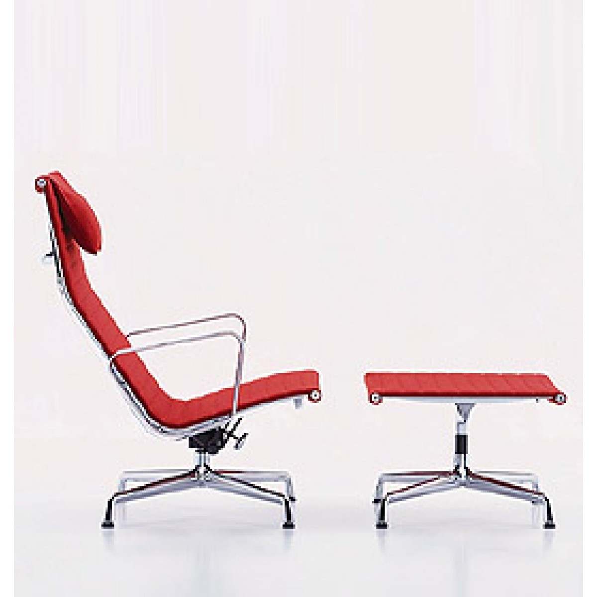 Chair Sessel Vitra Aluminium Chair Ea 124 125 Sessel