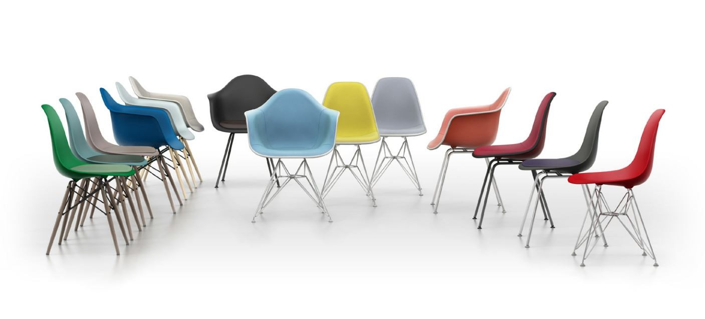Stuhl Design Vitra Vitra Dsw Eames Plastic Side Chair