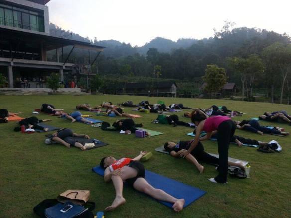 Yoga Retreat at D'hillPines