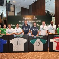 Carlsberg consumers awed by  BPL legends at the  Ultimate Football Retreat