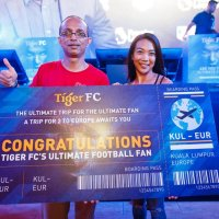 Banker wins the Tiger FC's hunt for 'The Ultimate Fan'