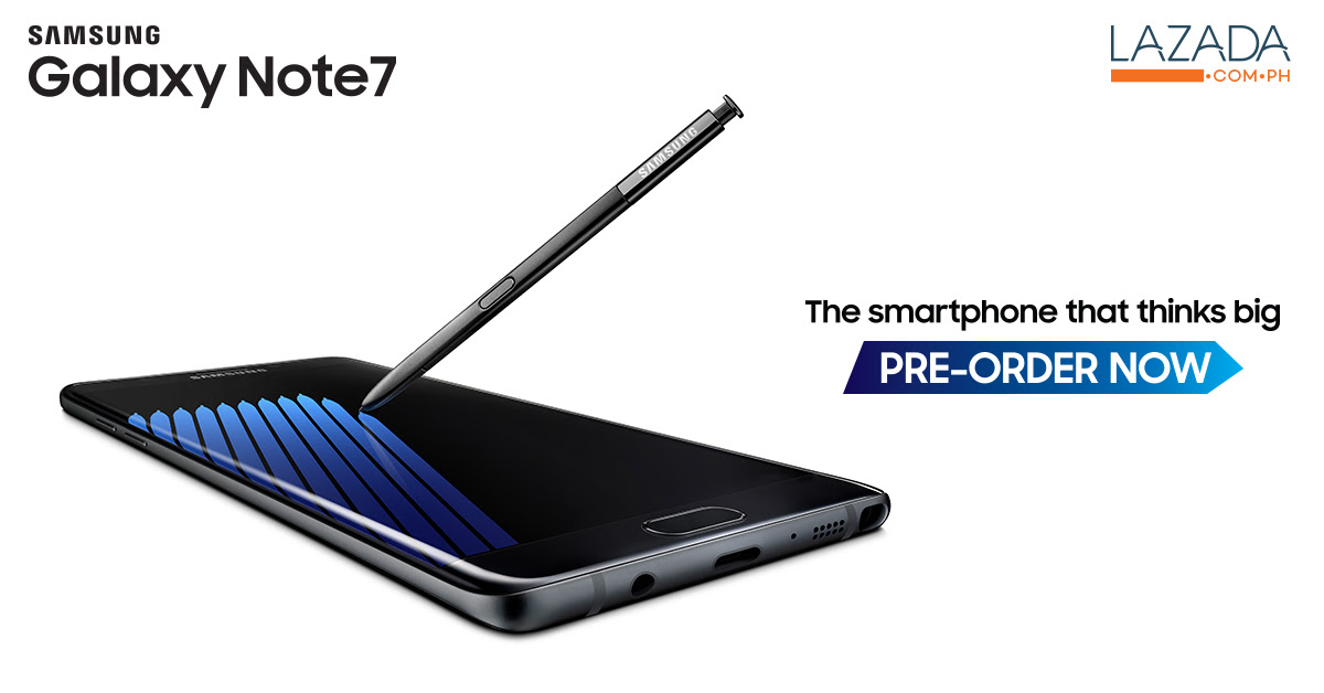 Samsung Galaxy Note7 available now in the Philippines for pre-order