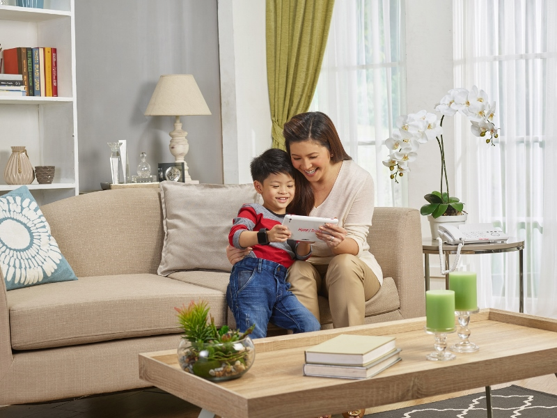 PLDT Home TelPad and Smart Watch for a Peace of Mind at Home