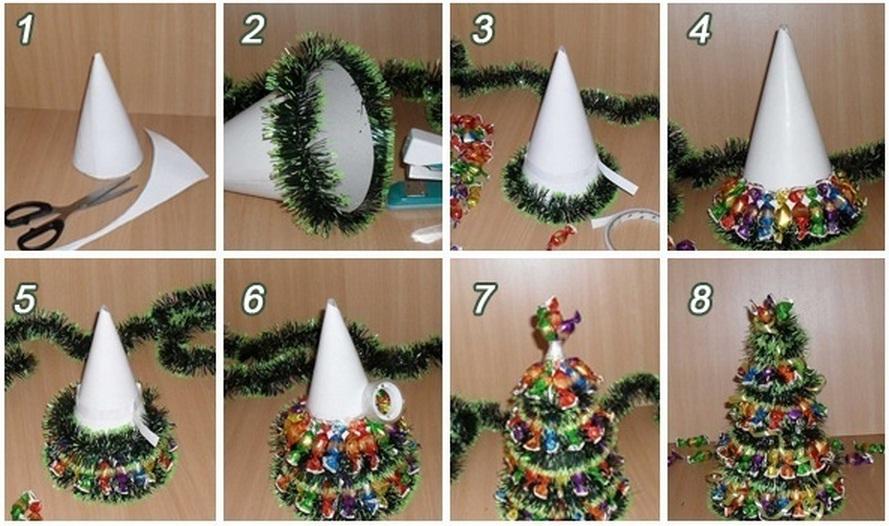mini christmas tree crafts - Rainforest Islands Ferry - mini christmas tree decorations