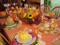 Thanksgiving Tables - Good Ideas and Tips