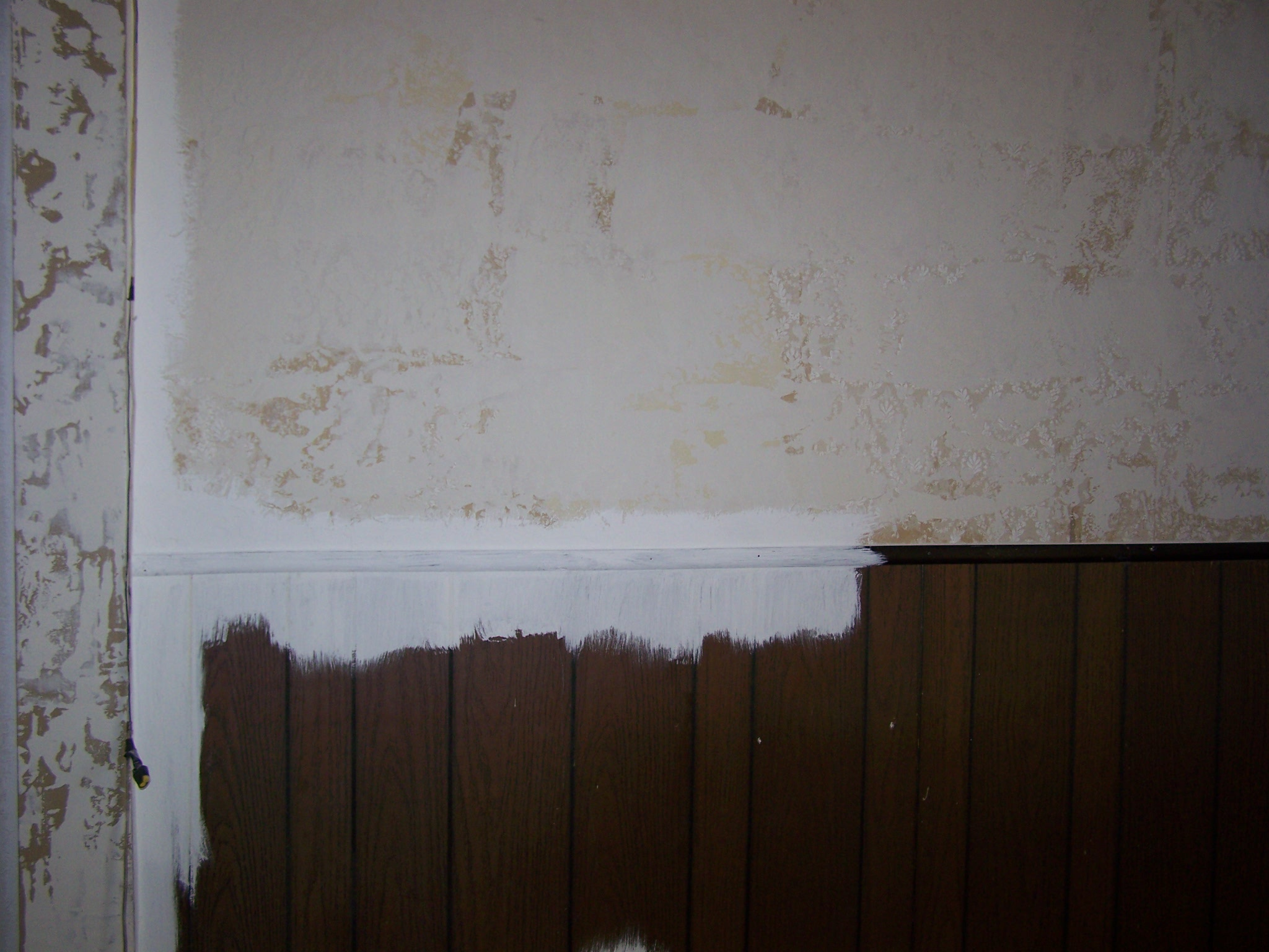 What Color To Paint Paneling How To Paint Faux Wood Paneling Or Fake Wood Good Ideas And Tips