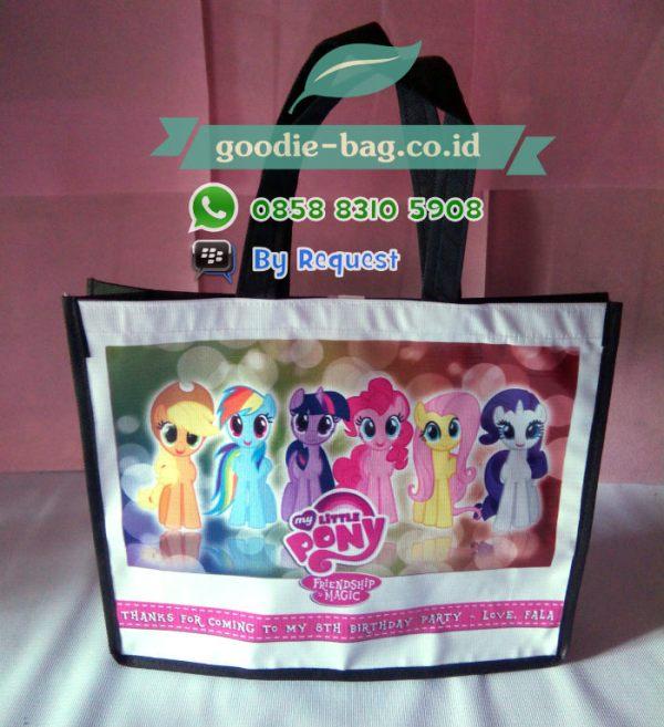 Tas Souvenir Ultah Anak Murah My Little Pony