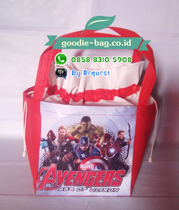 Tas Ulang Tahun Avengers Serut