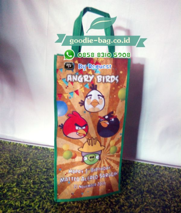 tas ulang tahun murah angry bird