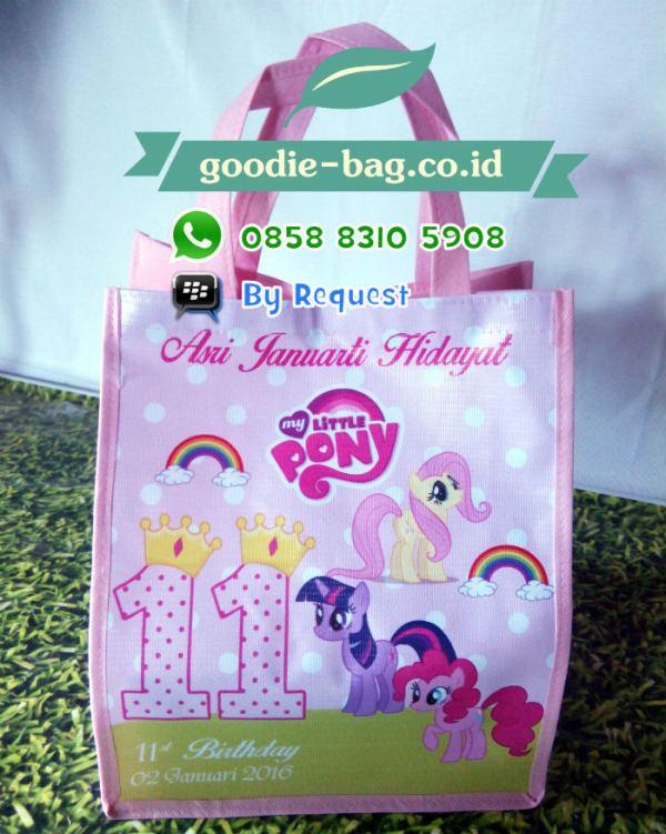Tas Ulang Tahun My Little Pony Murah Jakarta