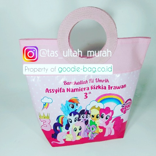 Goodie Bag My Little Pony Unik jakarta