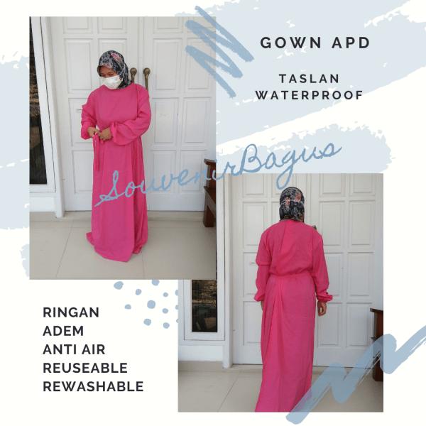 APD Gown anti Air Taslan Jakarta Overal