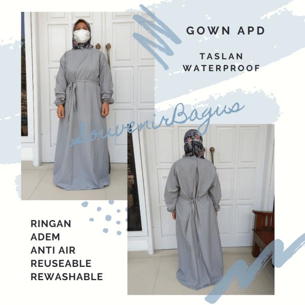 APD Gown Taslan Parasut Anti Air Jakarta