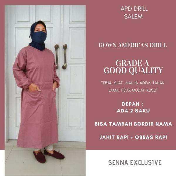 APD Gown Drill Jakarta