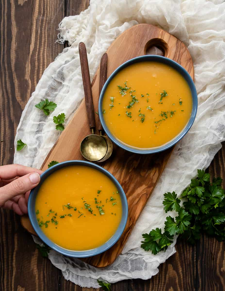 Butternut Squash Soup Dairy Free Vegan Whole30 Goodie Godmother