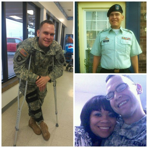 Proud of my husband's service in the Army!