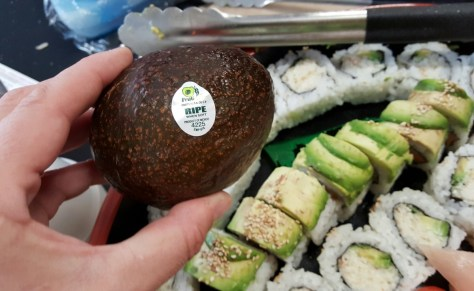 California Roll Avocados From Mexico