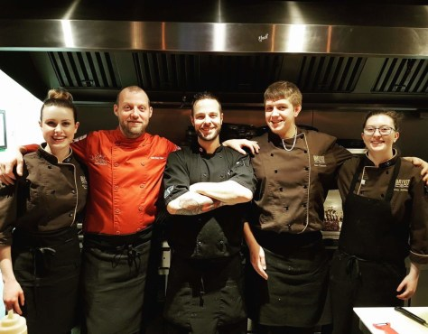 Chef Garrett Thienes