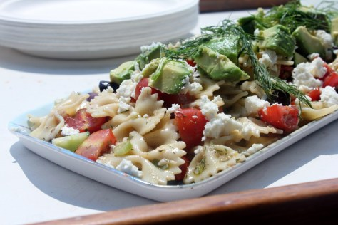 Avocado Dill Pasta Salad