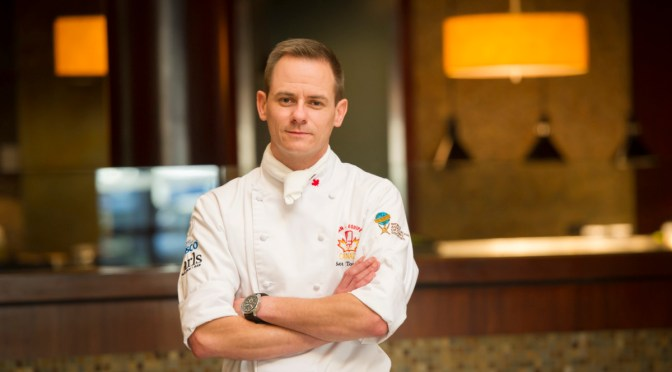 Chef Scott Torgerson the Executive Chef Radisson Hotel Saskatoon and Aroma Resto Bar Heads to Canadian Culinary Championships