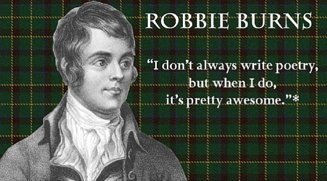 Robbie Burns Night at The Cascade Room