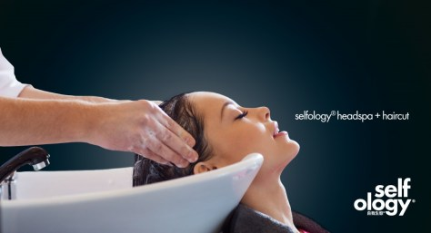 selfology headspa + haircut