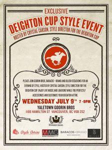 deighton cup style