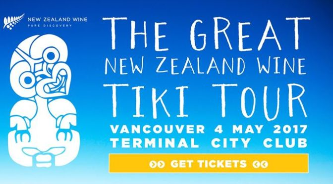 The Great New Zealand Wine Tiki Tour – Vancouver