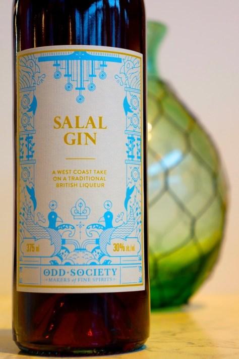 odd society salal gin