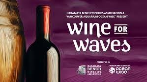 wine for waves poster
