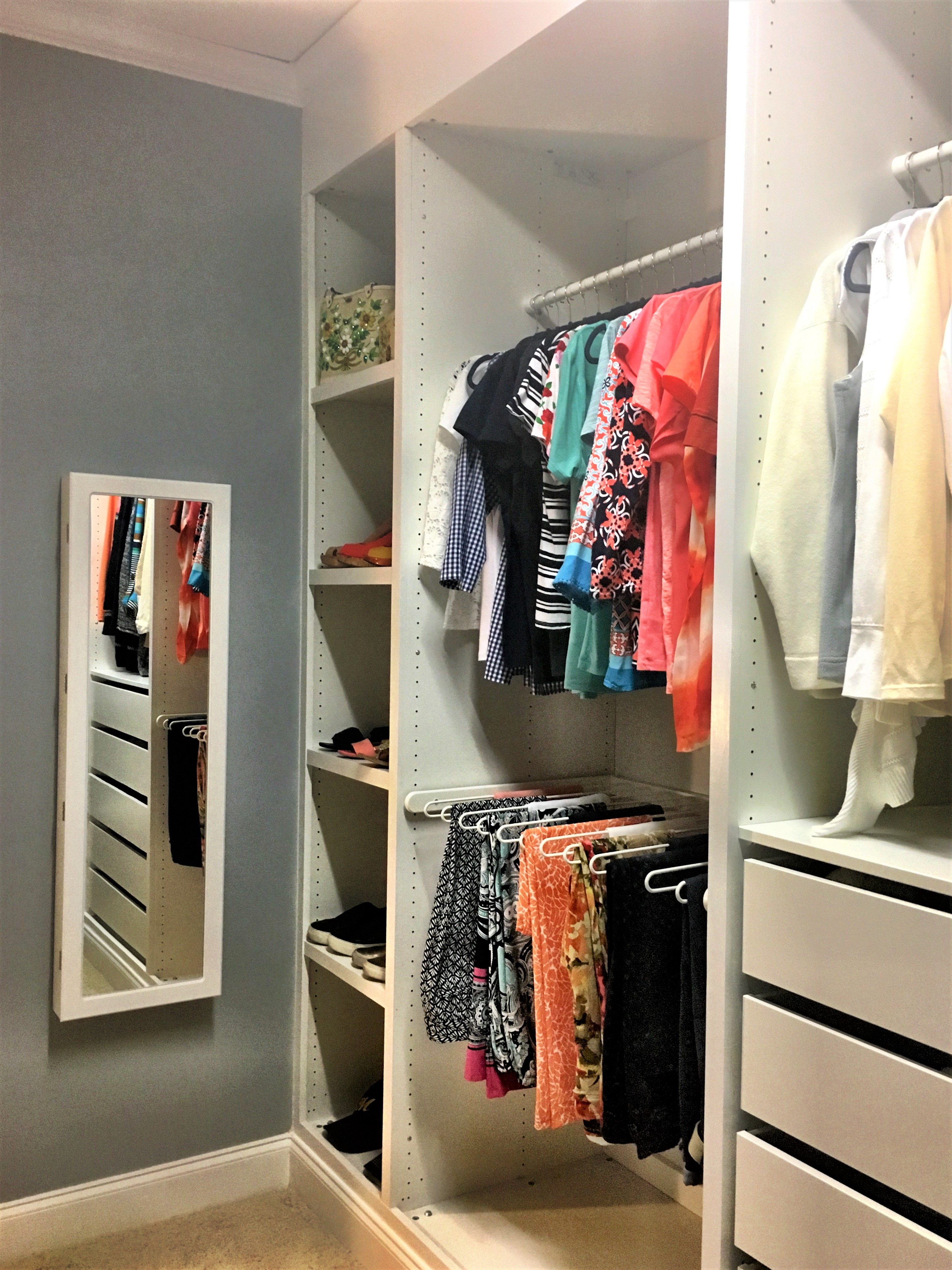 Box Room Wardrobe Ultimate Ikea Pax Hack The Big Reveal Good Life Wife