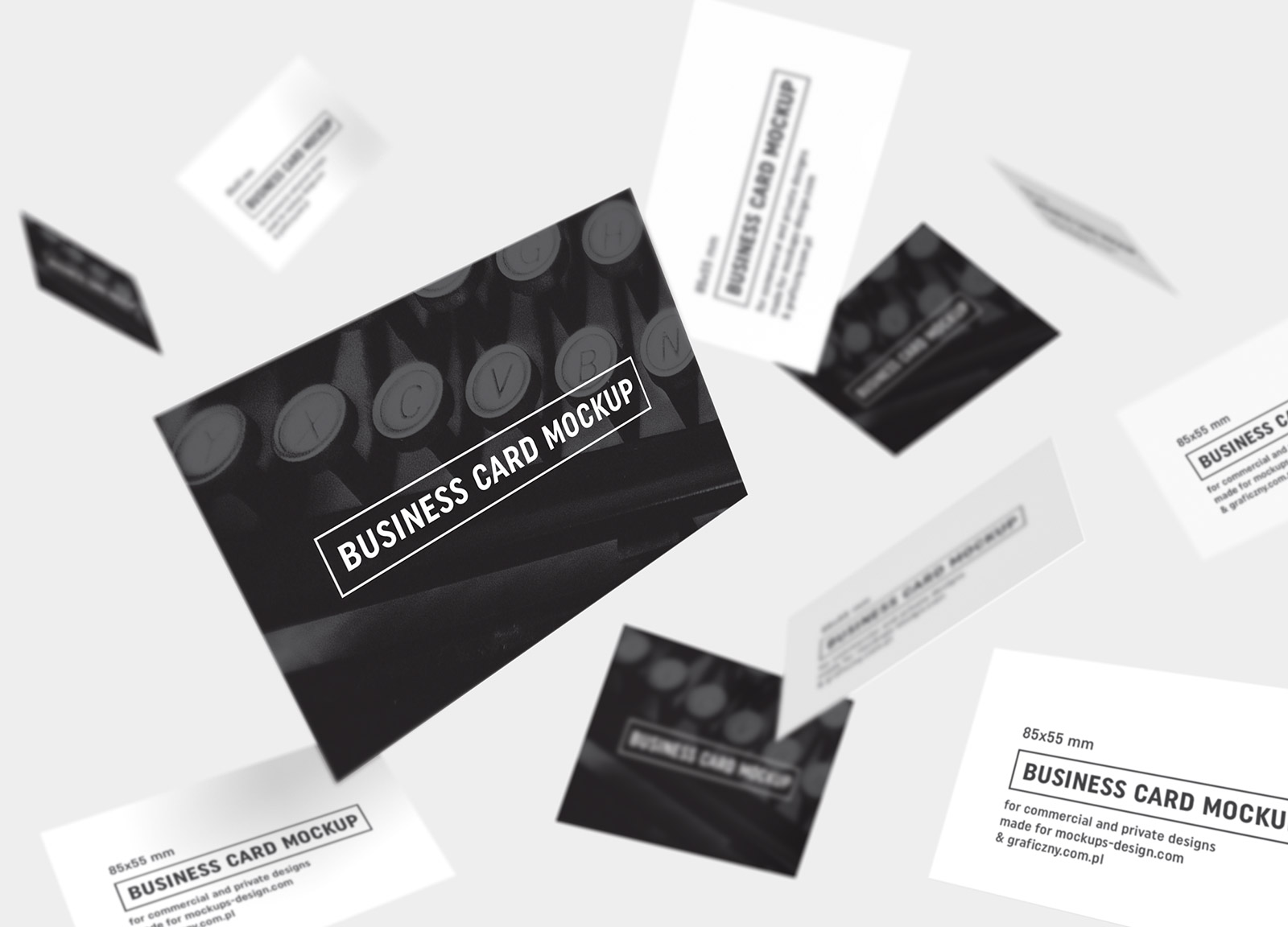 psd business card mock