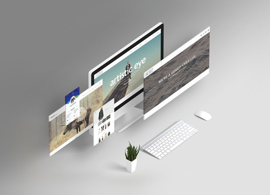 Free Responsive Website Design Showcasing Mockup PSD - Good Mockups