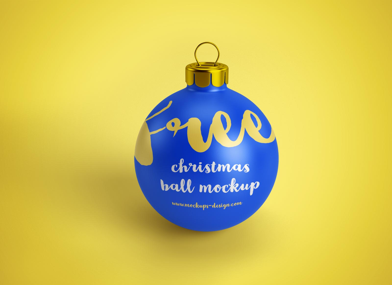 Mockup Iphone Video Free Christmas Ball (bauble) Ornament Mockup Psd Files