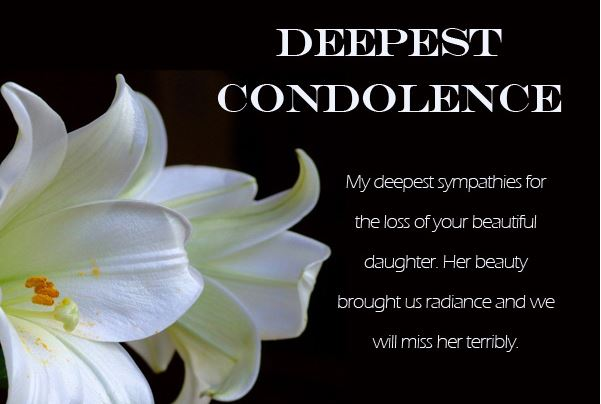 Top Heart Touching Messages of Condolence - Condolence Messages