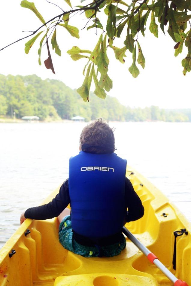 Toddler-Kayaking