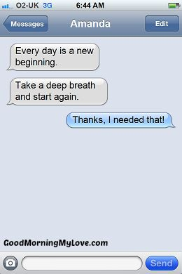 Inspirational Good Morning sms Messages_Good Morning My Love_Text3