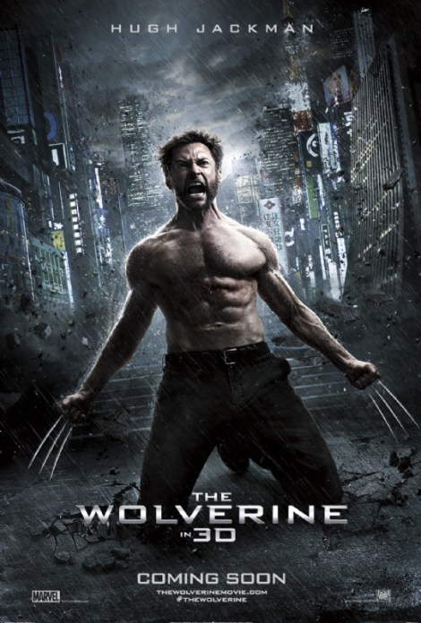 the wolverine movie poster 2