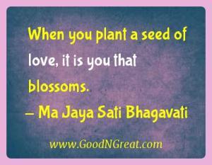 Ma Jaya Sati Bhagavati Karma Quotes 1