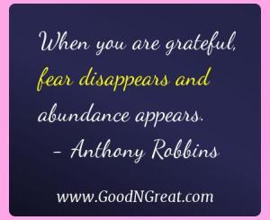 Anthony Robbins Gratitude Quotes