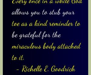 Richelle E. Goodrich Gratitude Quotes