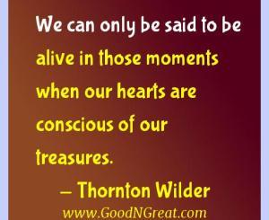 Thornton Wilder Gratitude Quotes