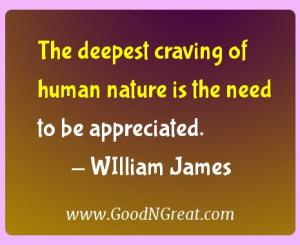 WIlliam James Gratitude Quotes