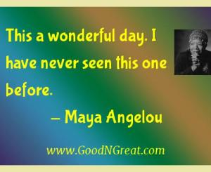 Maya Angelou Gratitude Quotes