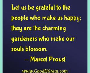 Marcel Proust Gratitude Quotes
