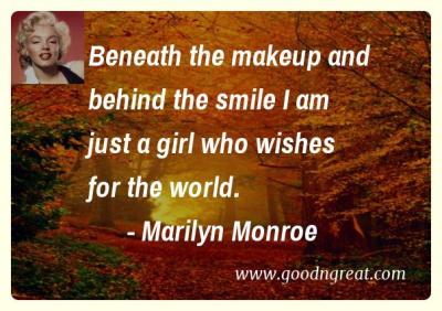 Marilyn Monroe GoodNGreat Quotes
