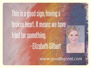 Most Popular Elizabeth Gilbert Quotes