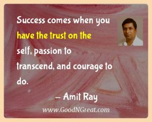 Amit Ray Success Quotes